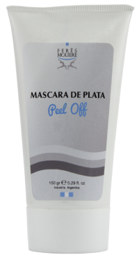 MASCARA DE PLATA PEEL OFF